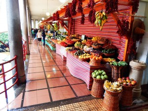 Fruit market in Funchal