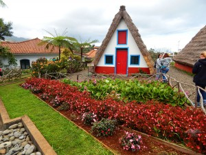 Santana traditional Madeira's houses