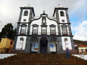 Church Igreja do Monte on Madeira