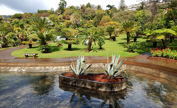 Botanička bašta u Funšalu