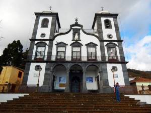 Church Monte on the island of Madeira