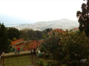 Pogled sa brda na kome se nalazi crkva Monte