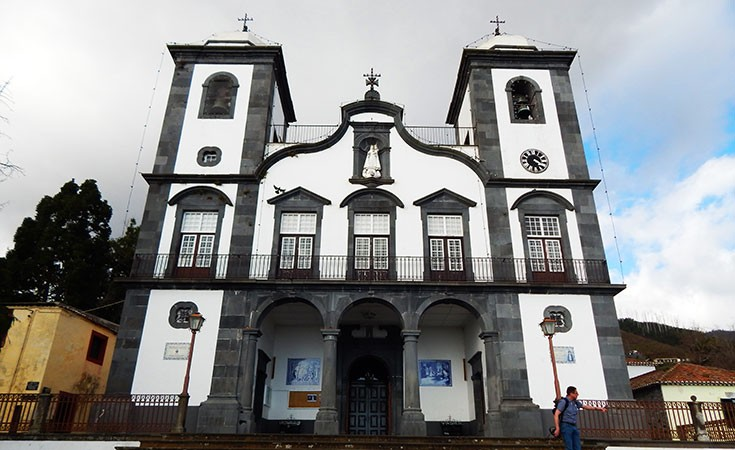 Church of Monte on Madeira