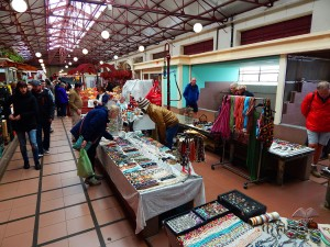 Souvenirs and jewelry at Funchal market