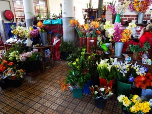 Flowers at Funchal's market