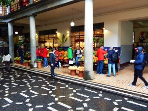 The exotic fruit market in Funchal