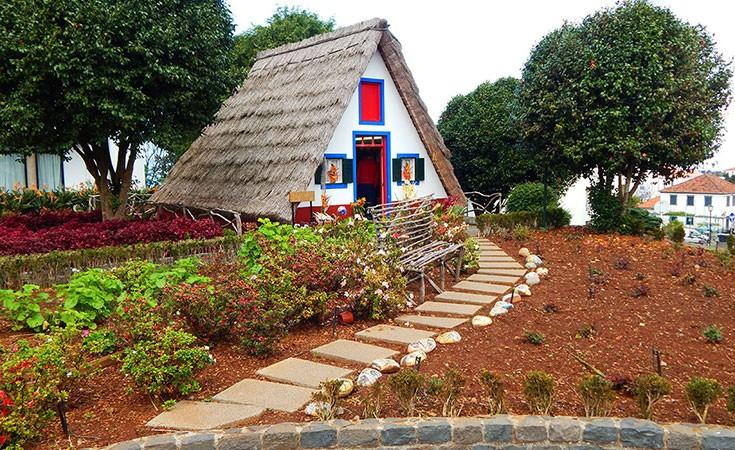 Santana tradicionalne kućice na Madeiri