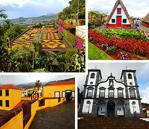 Sights in Madeira Island