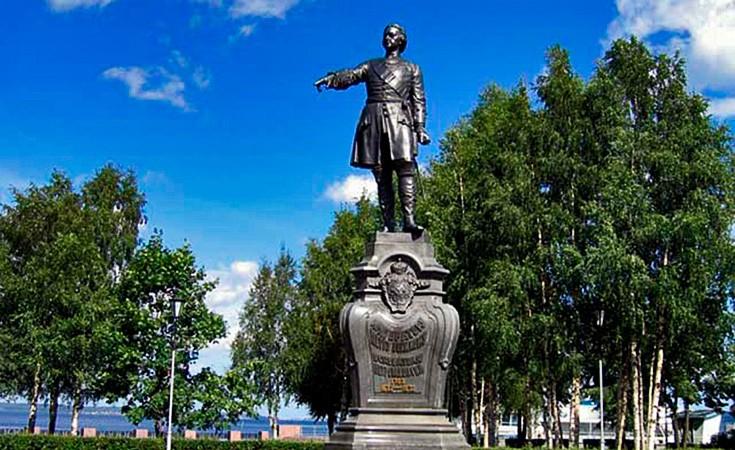 Spomenik Petru Velikom