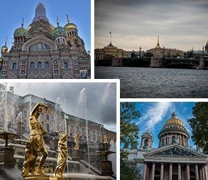 Sights in Saint Petersburg