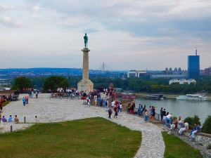Belgrade's Victor at the Kalemegdan Fortress in Belgrade