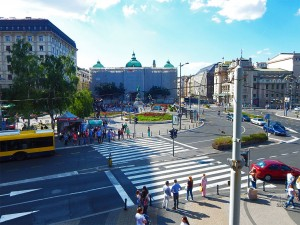Square of the Republic in Belgrade