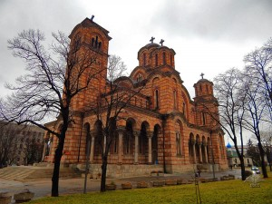 Saint Marko Church in Belgrade