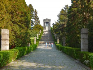 The Monument of the Unknown Hero on Avala Mountain