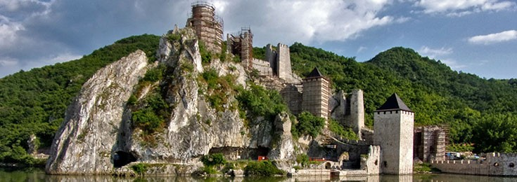 Golubac, Lepenski vir, monastery Tumane and winery Dusa