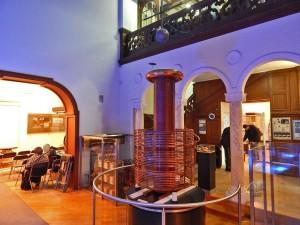Tesla's Coil at the Museum Nikola Tesla