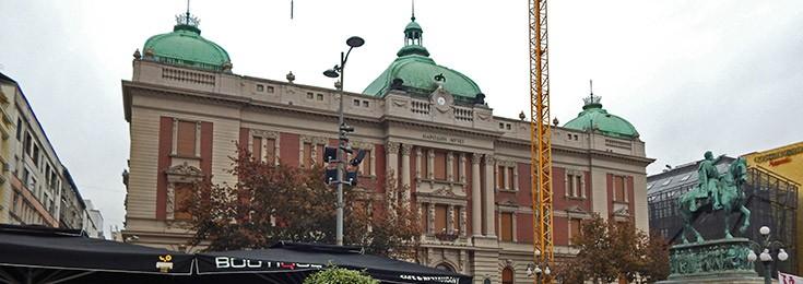 National museum in Belgrade