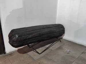 Rare wooden cannons