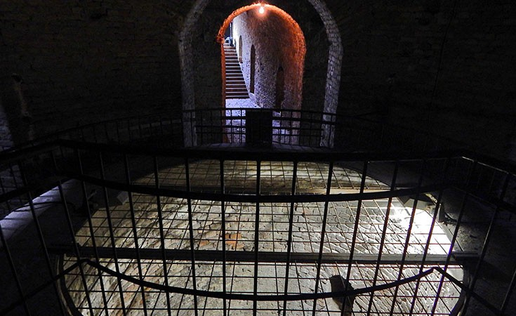 Roman Well at Belgrade Fortress