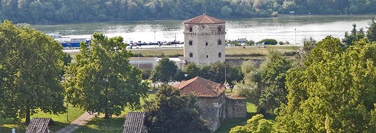Tower Nebojsa at Belgrade Fortress