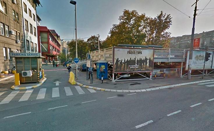 Parkiralište Kamenička