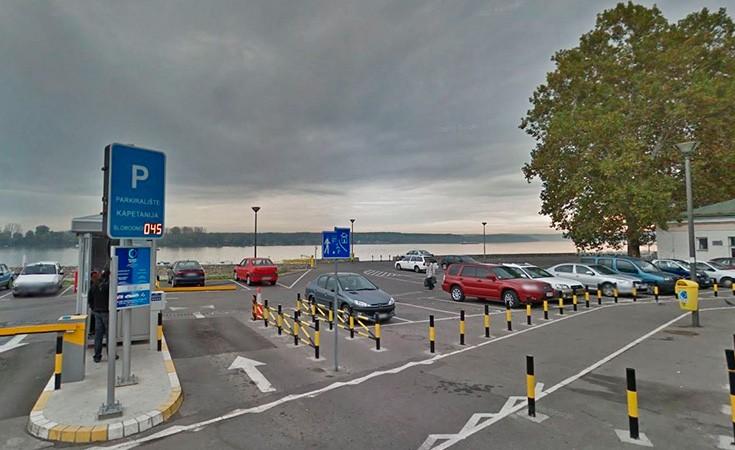 Parkiralište Kapetanija