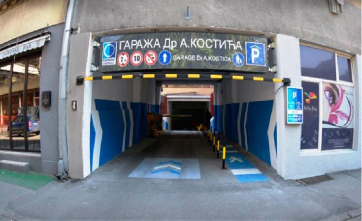 Garaža Dr Aleksandra Kostića