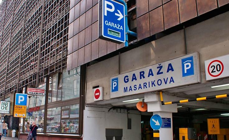 Garaža Masarikova u Beogradu