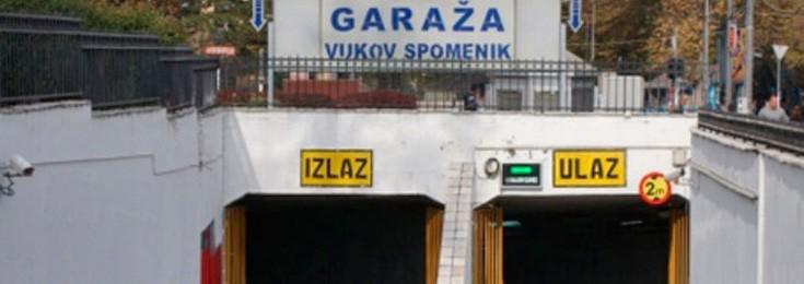 Garaža Vukov spomenik u Beogradu