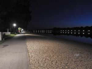 Staza koja vodi oko jezera Ada Ciganlija