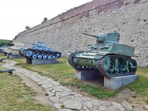 Old weaponry at Belgrade's Fortress