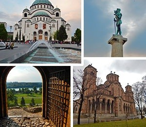Sights in Belgrade