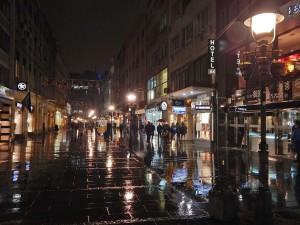 Knez Mihailova Street by night