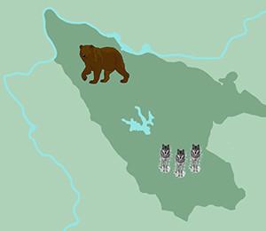Map of Tara