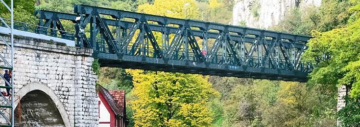 Stari železnički most.