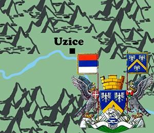 Map of Užice