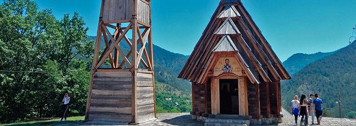 Drvengrad Ethno village of Emir Kusturica