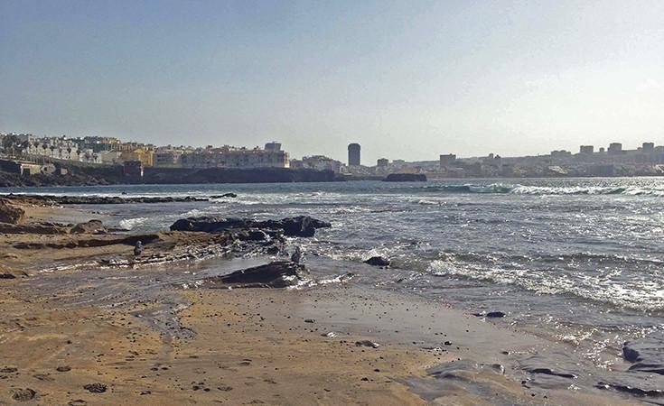 El Confital beach