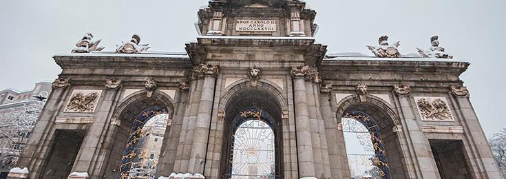 Trijumfalna kapija - Puerta de Alcala