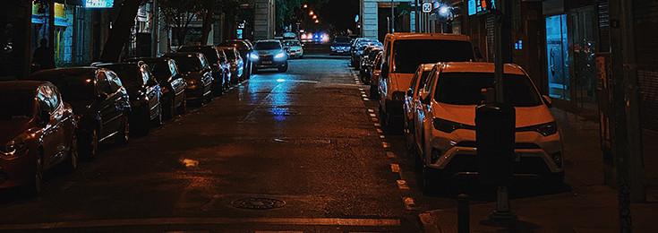 Parking u Madridu
