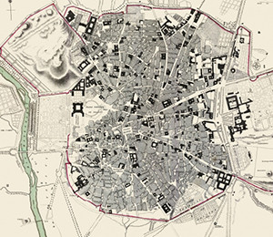 Map of Madrid