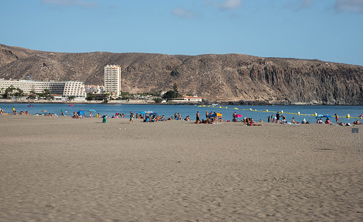 Los Cristianos plaža