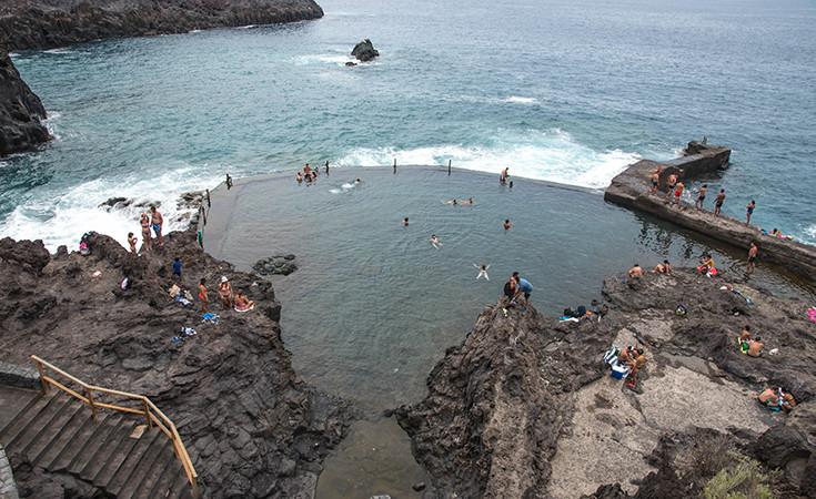 Los Gigantes prirodni bazeni