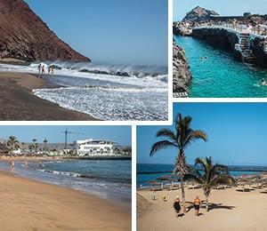 Beaches in Tenerife