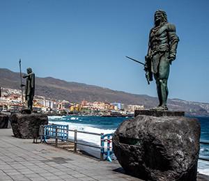 History of Tenerife