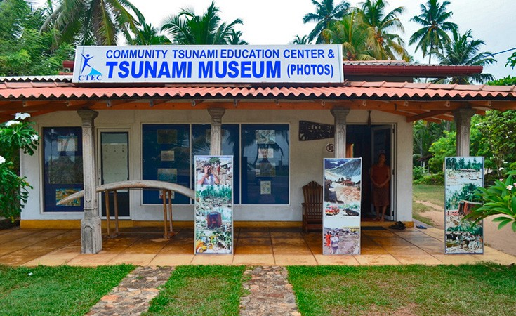 Cunami muzej na Šri Lanci