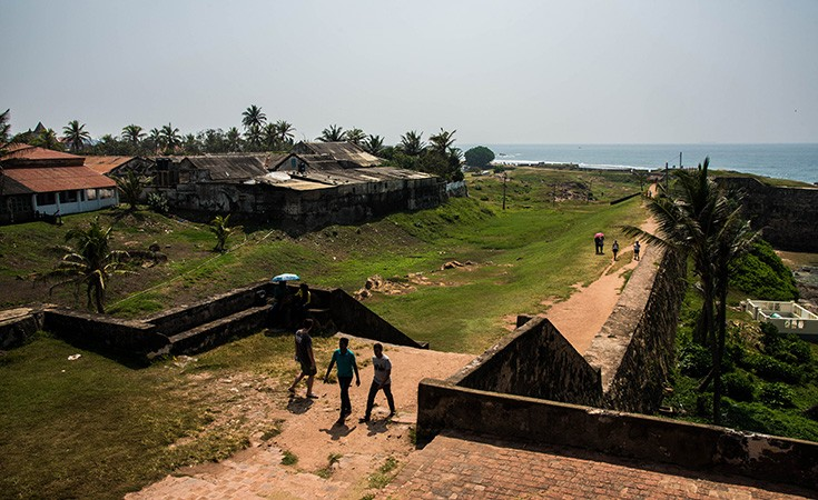 The Dutch Fort in Galle