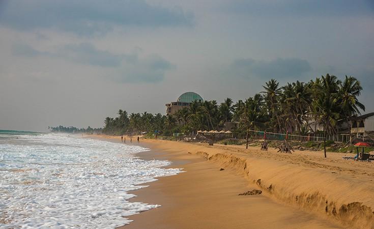 Plaža Hikkaduwa na Šri Lanci