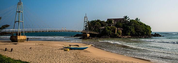 Matara plaža na Šri Lanci