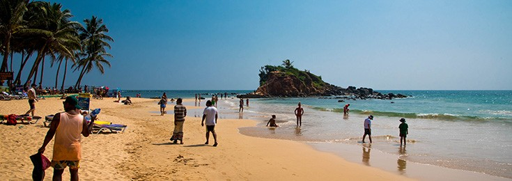 Plaža Mirissa na Šri Lanci